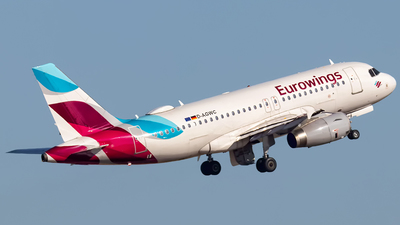 D-AGWC - Airbus A319-132 - Eurowings