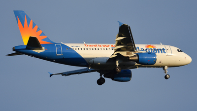 A picture of N311NV - Airbus A319111 - Allegiant Air - © Jake Oesterreich