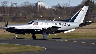 D-FAYX - Socata TBM-850 - Private