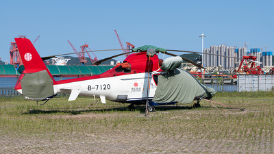 B-7120 - Eurocopter EC 155B1 Kocoglu - China Offshore Helicopter Service Corporation (COHC)