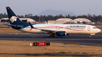 A picture of N377AR - Boeing 73786J - Aeromexico - © Miguel Fiesco (MAS Aviation Press)