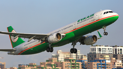 B-16210 - Airbus A321-211 - Eva Air