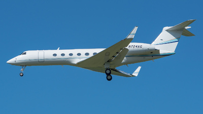 N724AG - Gulfstream G-V - Private