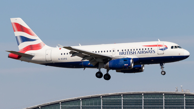 A picture of GEUOG - Airbus A319131 - British Airways - © Egccarchie