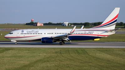N624XA - Boeing 737-86J - Swiftair