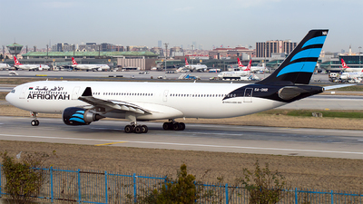 5A-ONR - Airbus A330-302 - Afriqiyah Airways