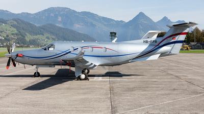 HB-FPR - Pilatus PC-12/45 - Rosen Swiss