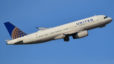 N446UA - Airbus A320-232 - United Airlines