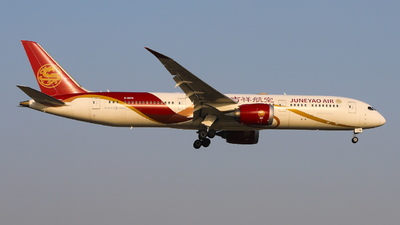 A picture of B207N - Boeing 7879 Dreamliner - Juneyao Airlines - © wingsofchina