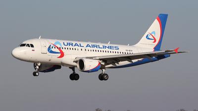 A picture of VQBTP - Airbus A319112 - Ural Airlines - © BizavMen