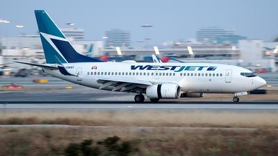 C-GWBT - Boeing 737-7CT - WestJet Airlines