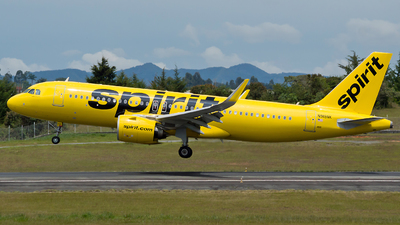 A picture of N919NK - Airbus A320271N - Spirit Airlines - © Jorge Saenz