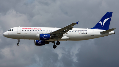 D-AHHF - Airbus A320-214 - Hamburg Airways