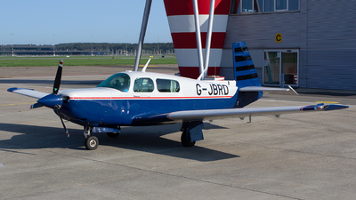 G-JBRD - Mooney M20K 252 TSE - Private