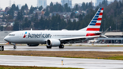 A picture of N335SN - Boeing 737 MAX 8 - American Airlines - © Nick Sheeder