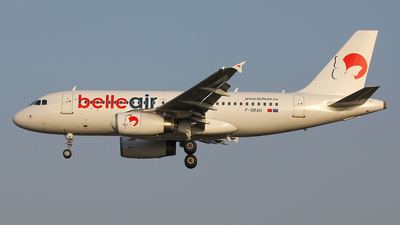 F-ORAH - Airbus A319-132 - Belle Air