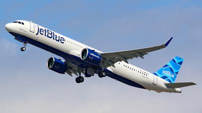 N4048J - Airbus A321-271NX - jetBlue Airways