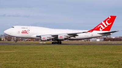 ER-BBC - Boeing 747-433(BDSF) - Aerotranscargo