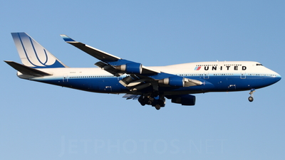 N181UA - Boeing 747-422 - United Airlines