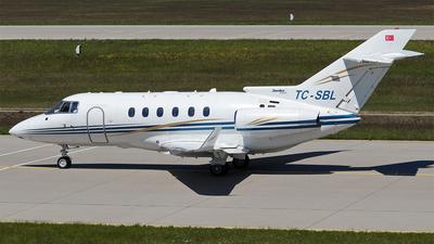 TC-SBL - Hawker Beechcraft 850XP - Private