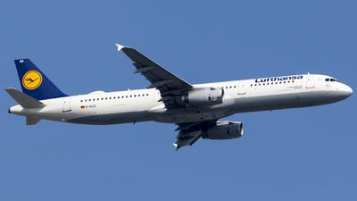 D-AISG - Airbus A321-231 - Lufthansa