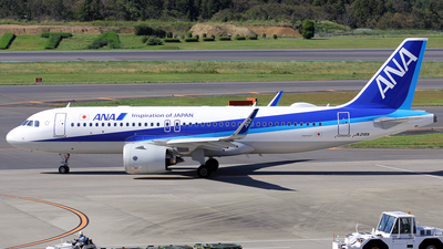 JA216A - Airbus A320-271N - All Nippon Airways (ANA)