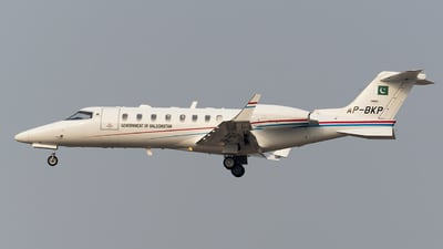 AP-BKP - Bombardier Learjet 45XR - Pakistan - Government