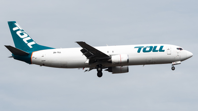 ZK-TLL - Boeing 737-484(SF) - Airwork New Zealand