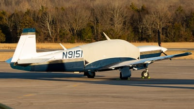 N9151X - Mooney M20M - Private
