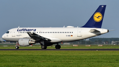 A picture of DAIBD - Airbus A319112 - Lufthansa - © Mehrad Watson - AirTeamImages