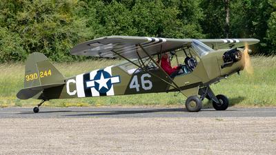 G-CGIY - Piper J-3C-65 Cub - Private