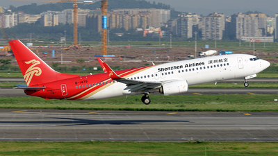 B-1478 - Boeing 737-87L - Shenzhen Airlines