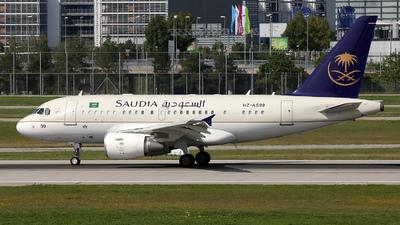 HZ-AS99 - Airbus A318-112(CJ) Elite - Saudi Arabia - Royal Flight