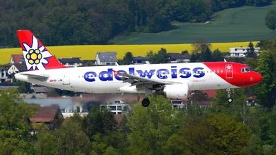 HB-JJK - Airbus A320-214 - Edelweiss Air