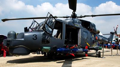 M501-3 - AgustaWestland Super Lynx 300 - Malaysia - Navy