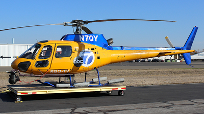 N7QY - Eurocopter AS 350B2 Ecureuil - ABC 7 News