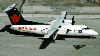 C-FXON - Bombardier Dash 8-102 - Air Ontario