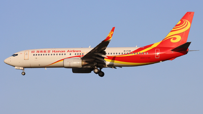 A picture of B1728 - Boeing 73784P - Hainan Airlines - © Anlanjian