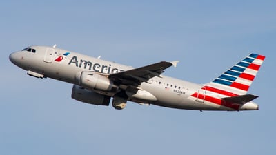 N820AW - Airbus A319-132 - American Airlines