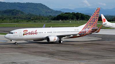 A picture of PKLZO - Boeing 7378GP - Batik Air - © Winarto T.