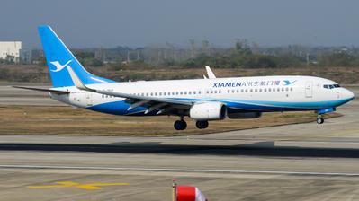 A picture of B7831 - Boeing 73785C - Xiamen Air - © Xiwang