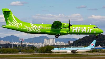 A picture of HL5245 - ATR 72500 - Hi Air - © sseca-Korea Aero Photos