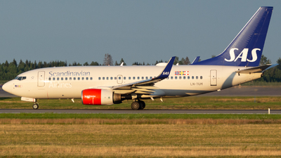 A picture of LNTUM - Boeing 737705 - SAS - © Andre_S