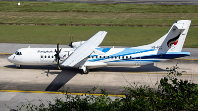 HS-PZC - ATR 72-212A(600) - Bangkok Airways