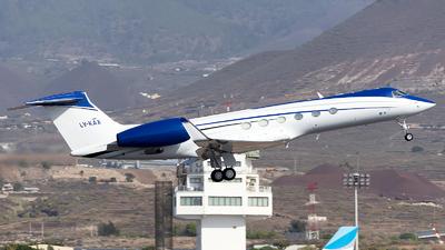 A picture of LVKAX - Gulfstream V - [518] - © Manuel EstevezR