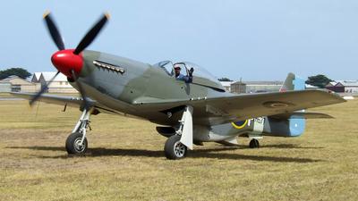 VH-JUC - CAC CA-18 Mk.21 Mustang - Private