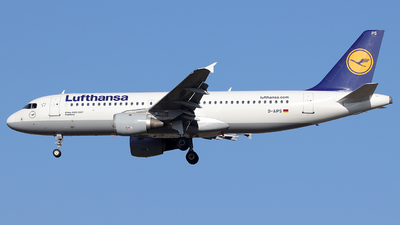 D-AIPS - Airbus A320-211 - Lufthansa