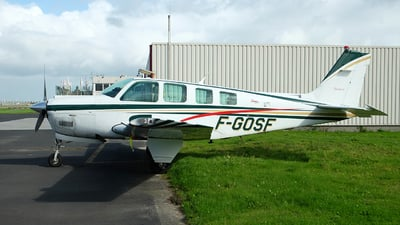 F-GOSF - Beechcraft A36 Bonanza - Private