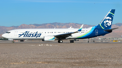 A picture of N467AS - Boeing 737990(ER) - Alaska Airlines - © Lars Rohde