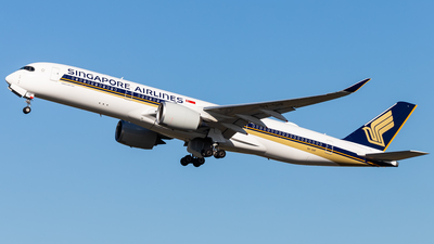 9V-SHF - Airbus A350-941 - Singapore Airlines